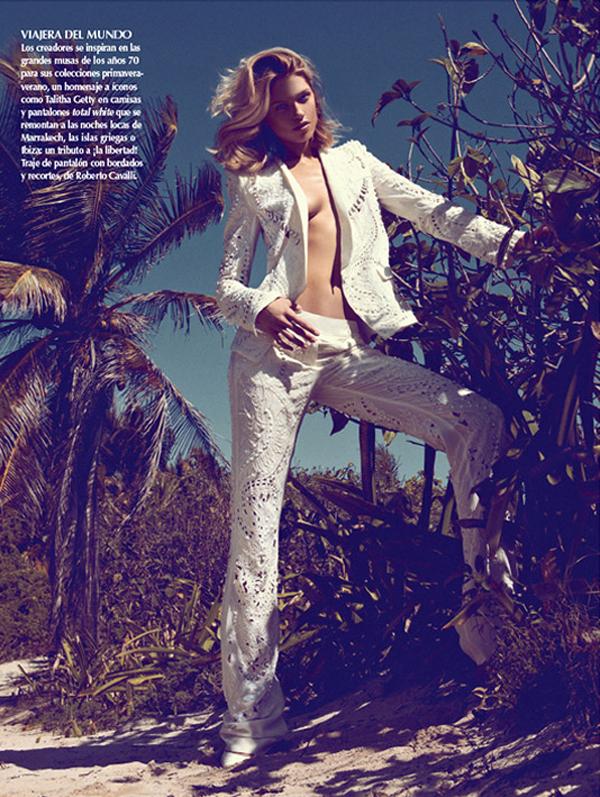 """HanaJirickovaVogueLatinAmerica1 April2013 """"Vogue Latin America"""": Savršena belina"""