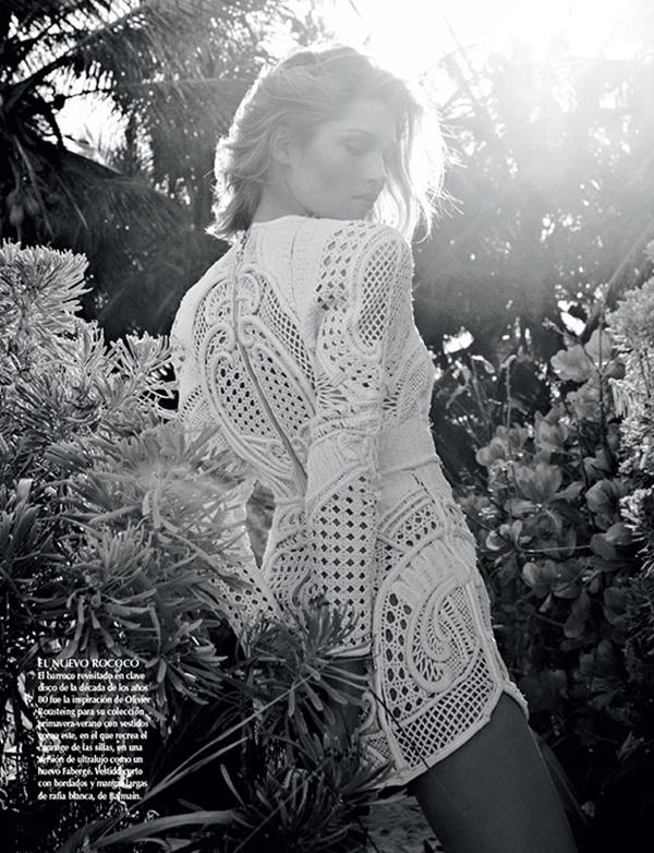 """HanaJirickovaVogueLatinAmerica3 April2013 """"Vogue Latin America"""": Savršena belina"""