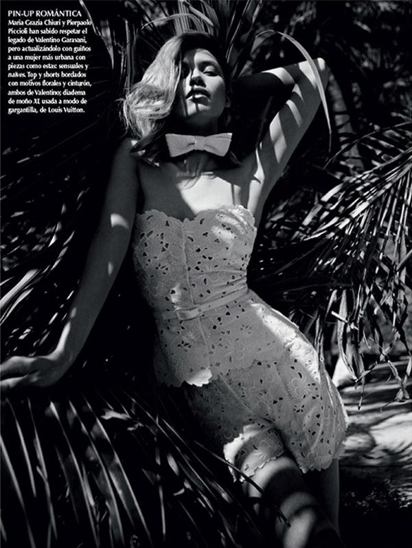 """HanaJirickovaVogueLatinAmerica7 April2013 """"Vogue Latin America"""": Savršena belina"""
