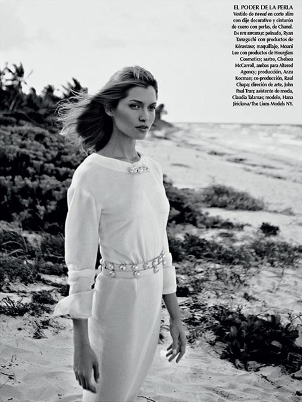 """HanaJirickovaVogueLatinAmerica9 April2013 """"Vogue Latin America"""": Savršena belina"""