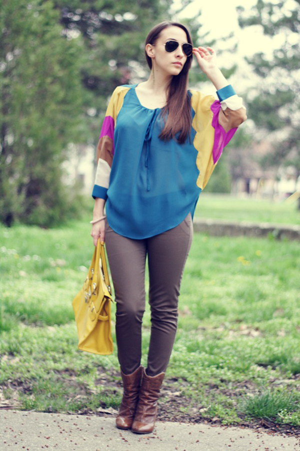 I know we have a chemistry1 Šta domaće modne blogerke nose ovih dana: Koža i bež