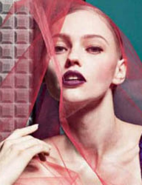 """Interview Magazine"": Zavodljiva Sasha Pivovarova"