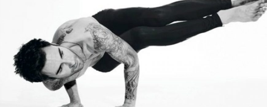 Adam Levine: Joga u rok stilu