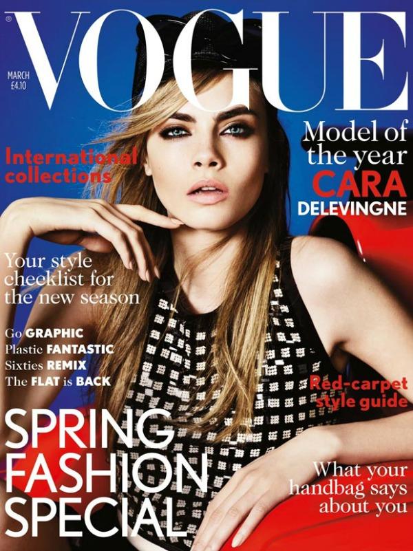"Kara Delevin na naslovnici Voga ""Vogue"": Lica sa naslovnica"