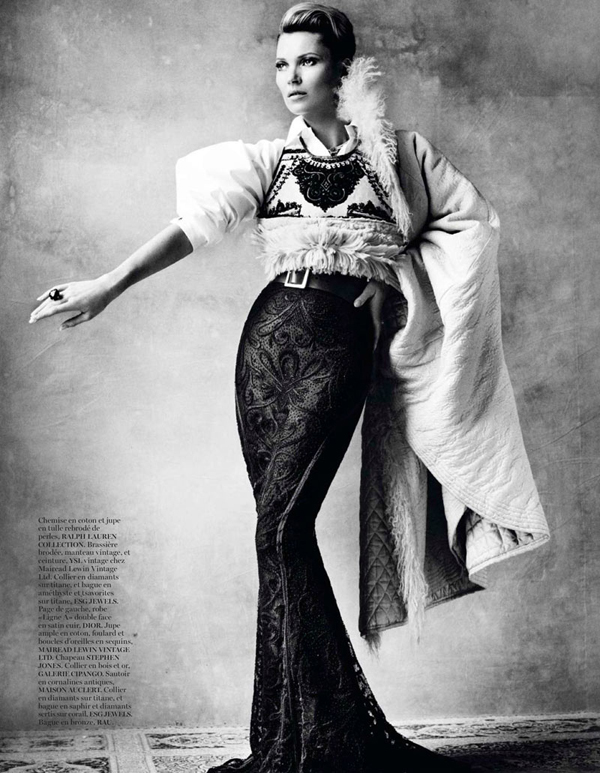 "KateMossMarioTestino3 ""Vogue Paris"": Nova modna bajka Kate Moss"