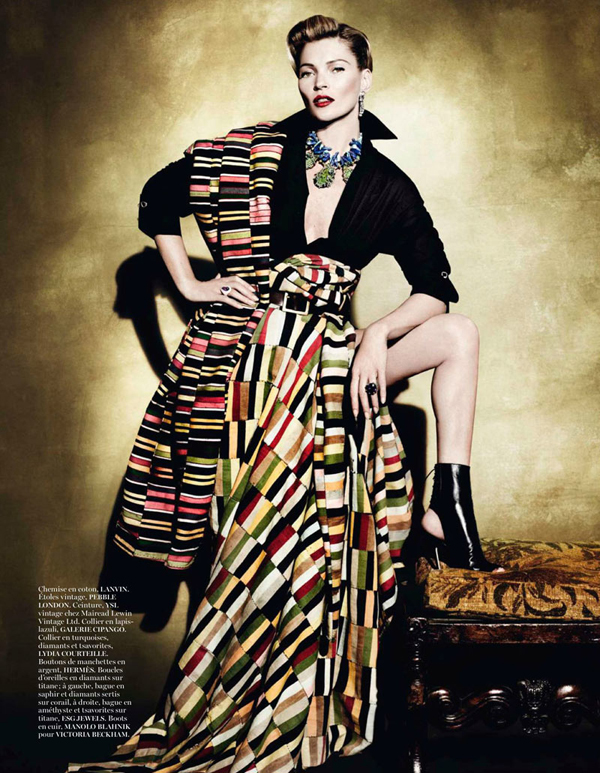 "KateMossMarioTestino5 ""Vogue Paris"": Nova modna bajka Kate Moss"