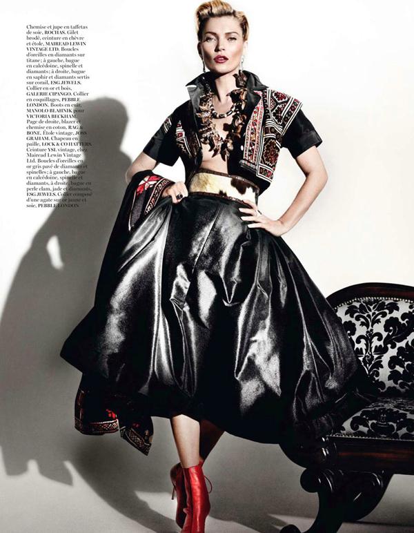 "KateMossMarioTestino6 ""Vogue Paris"": Nova modna bajka Kate Moss"