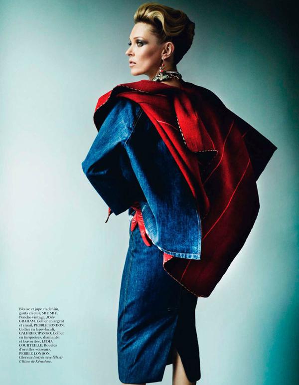 "KateMossMarioTestino8 ""Vogue Paris"": Nova modna bajka Kate Moss"