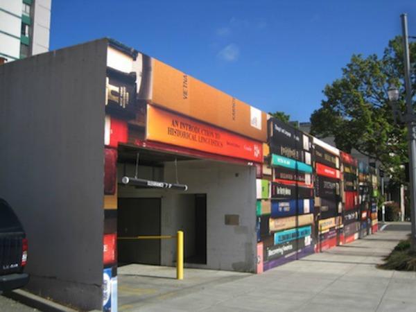 Knjige umesto parking garaže Ulični lepotani