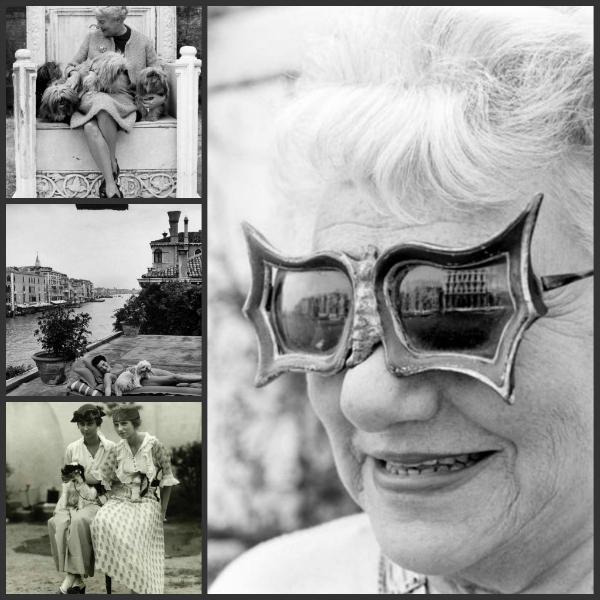 """Kolaž1 Čvrsta žena: Marguerite """"Peggy"""" Guggenheim"""