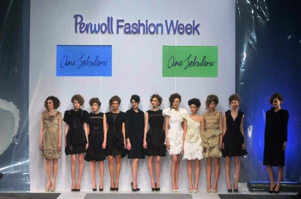 Kraj revije 33. Perwoll Fashion Week: Ana Šekularac
