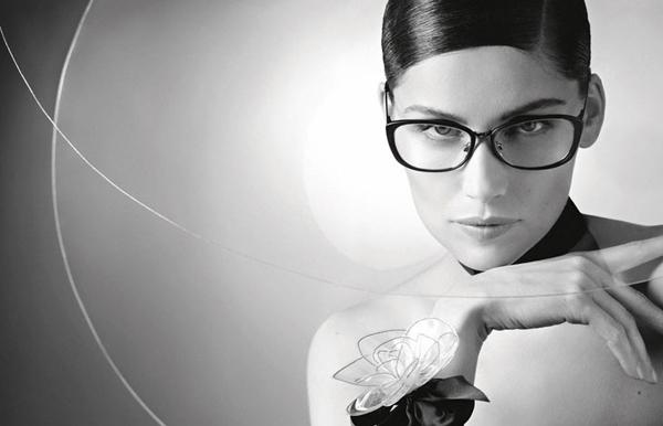 Laetitia Casta Karl Lagerfeld Chanel Eyewear 03 Chanel: Laetitia Casta i Karl Lagerfeld