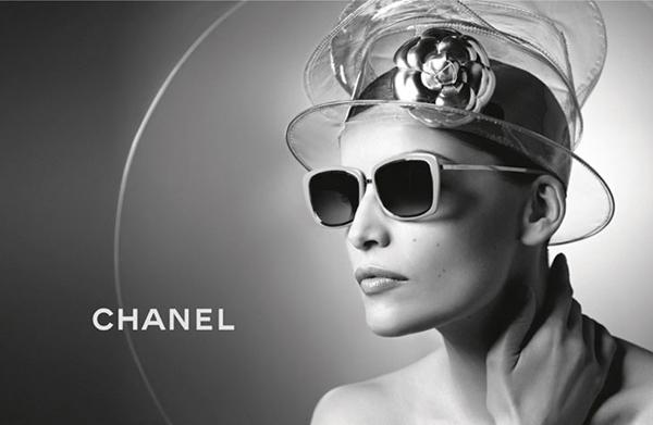 Laetitia Casta Karl Lagerfeld Chanel Eyewear 05 Chanel: Laetitia Casta i Karl Lagerfeld