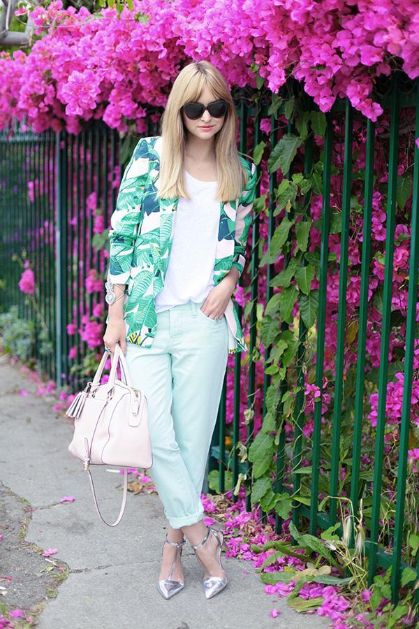 Loft 5 Fashion Bloggers Must Have: Cvetni print