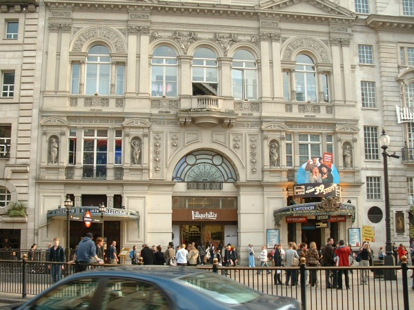 London Criterion Theatre Trk na trg: Piccadilly Circus, Engleska