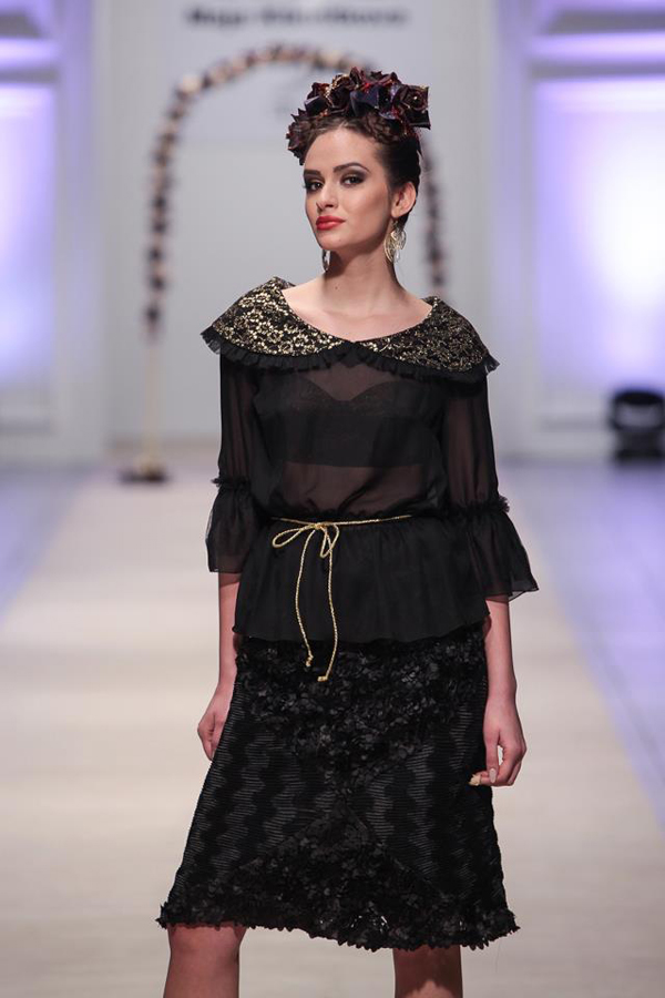 Maja Kikiritkova Fashion Week Skoplje: Maja Kikiritkova i Khristina Despotovska