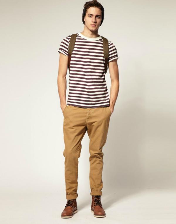 Majica na pruge Muška moda: Pruge i prugice
