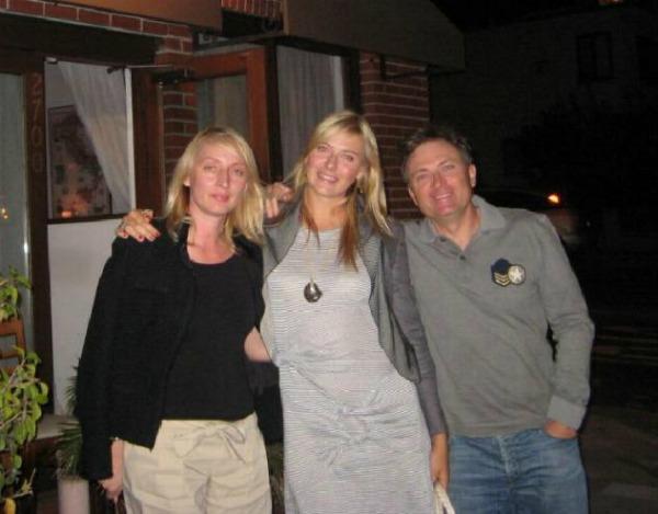 Marija sa roditeljima Srećan rođendan, Marija Šarapova!