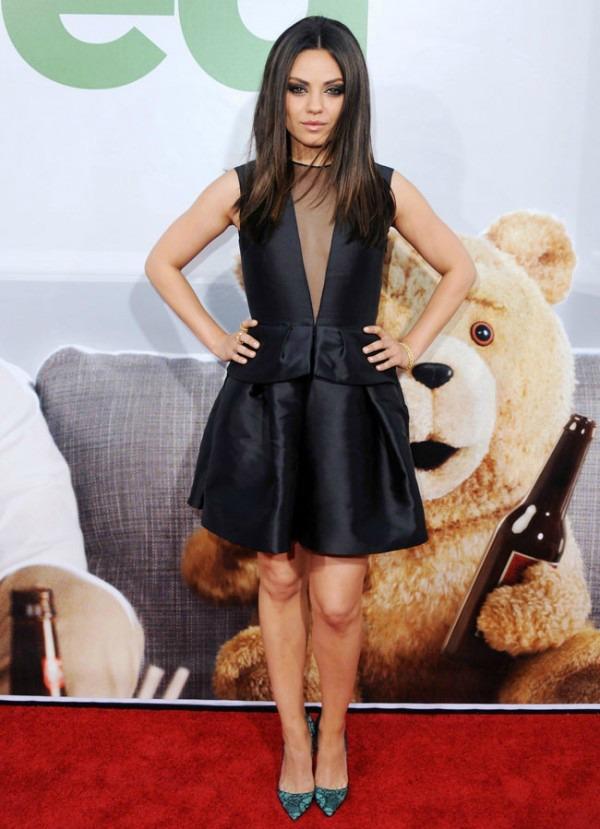 Mila Kunis Trend sa crvenog tepiha: Haljine Christian Dior