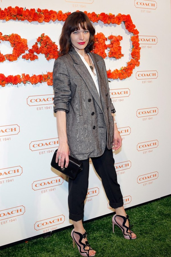 Milla Jovovich Celebrity stil dana: Milla Jovovich