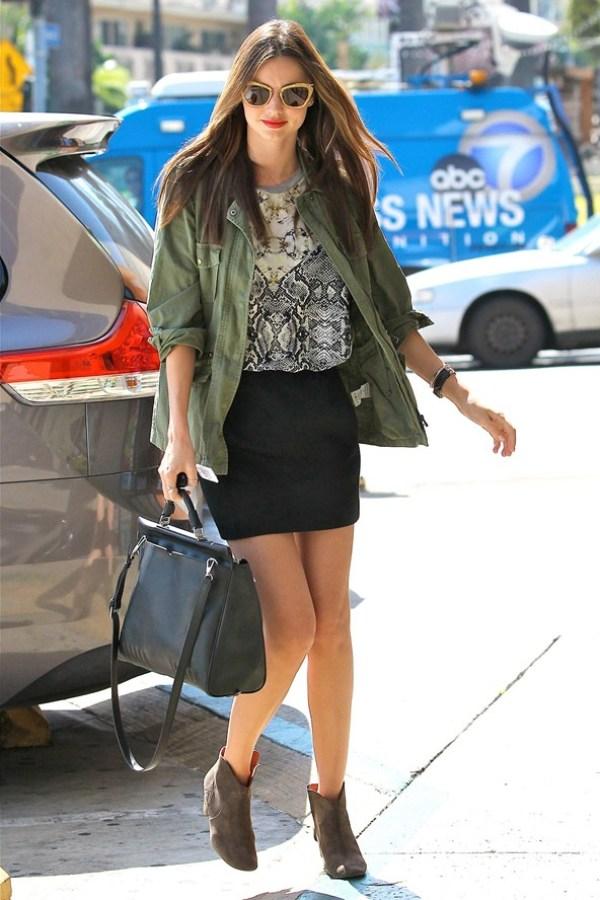 Miranda Kerr Celebrity stil dana: Miranda Kerr
