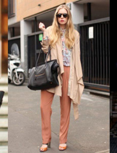 Prolećni stil na stranim modnim blogovima