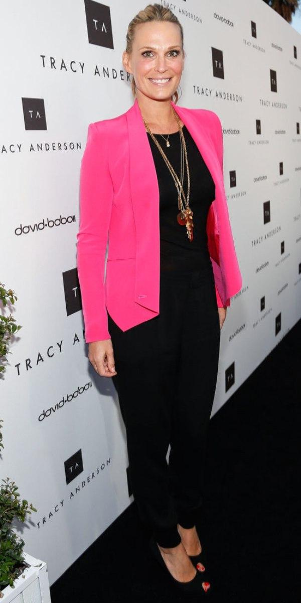 Molly Sims Celebrity stil dana: Molly Sims