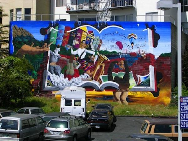 Na gomili  Don Kihot   Sto godina samoće   Autostoperski vodič kroz galaksiju  u San Francisku Ulični lepotani