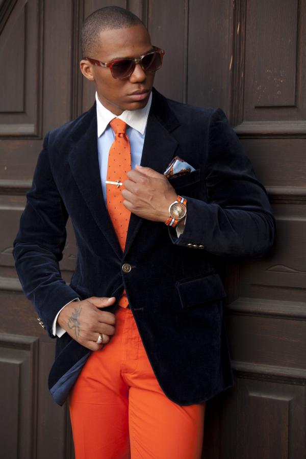Narandzaste pantalone Muška moda: Vesela narandžasta