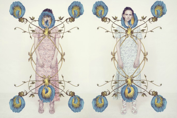 """Nekonvencionalno """"Harpers Bazaar UK"""": Majska modna bajka"""