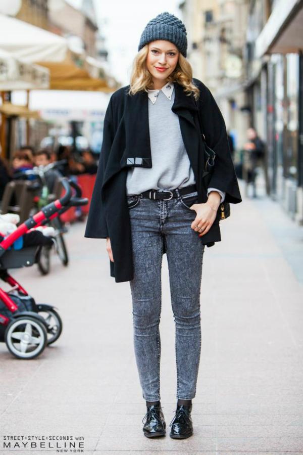 Plavokosa devojka sa kapicom Street Style: Inspirativni Zagrepčani dočekali proleće