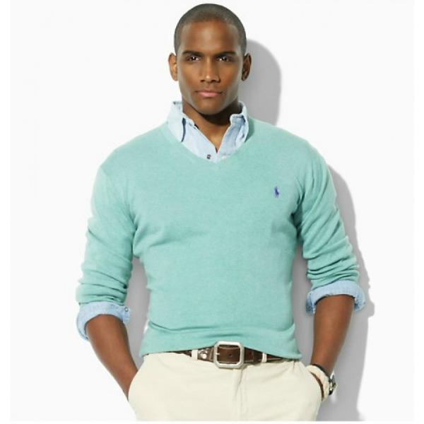 Polo džemper Muška moda: Sve nijanse plave