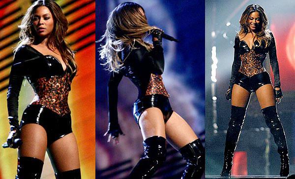 Queen B izvodi preformans Mjooz: Beyoncé zagrevanje