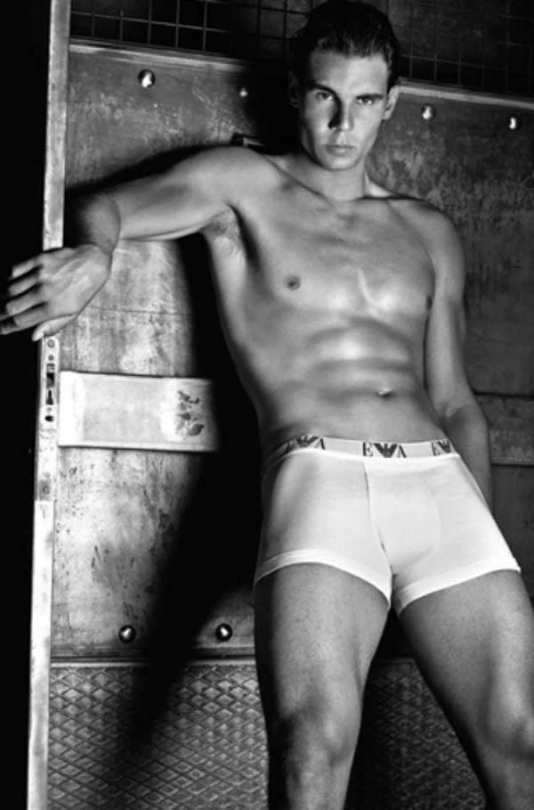 Rafael Nadal Najzgodniji sportisti kao modeli (1. deo)