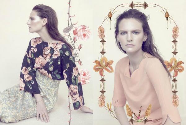 "Ružičaste nijanse ""Harpers Bazaar UK"": Majska modna bajka"