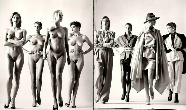 Sie kommen Oni dolaze Vogue Paris 1981. Helmut Njuton Seks i golotinja su uvek u modi