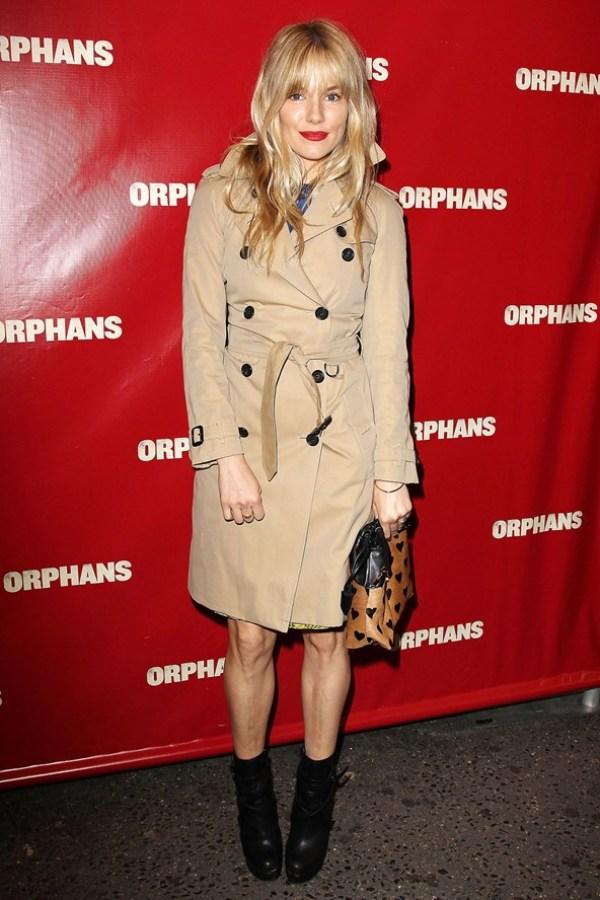 Sienna Miller Celebrity stil dana: Sienna Miller