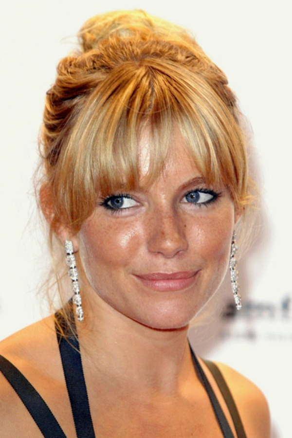 Sijena Miler Beauty Moments: Najlepše frizure, Sienna Miller