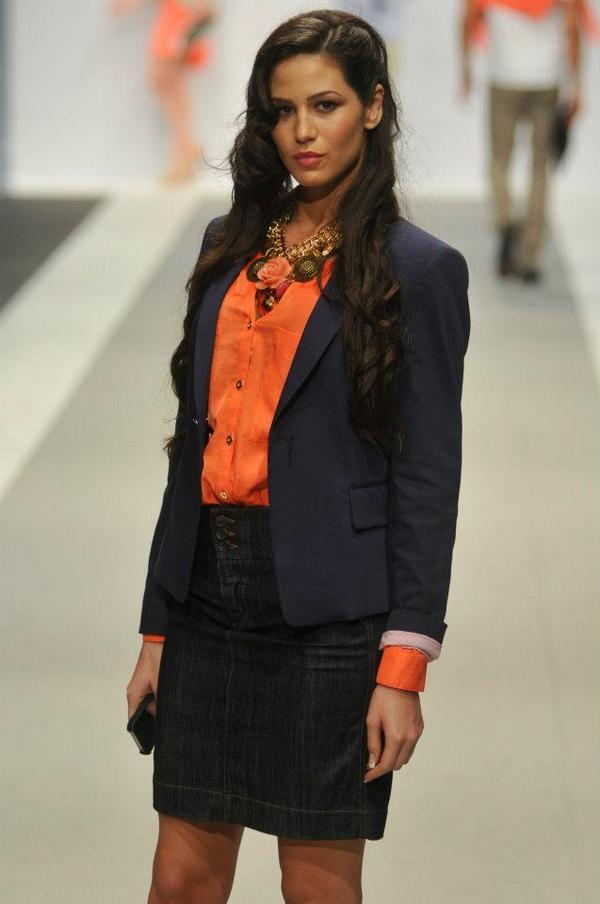 Slika 3 Teget sako za poslovnu kombinaciju 33. Perwoll Fashion Week: Legend