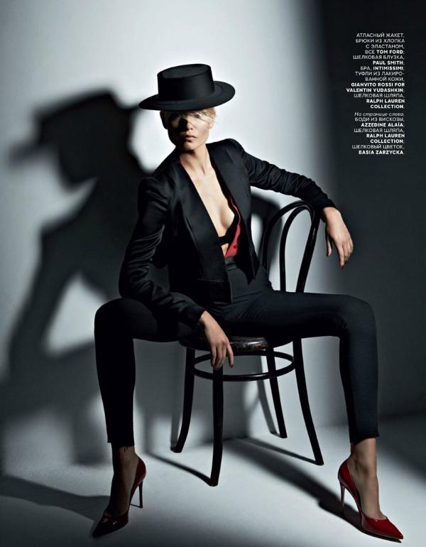 """Stav """"Vogue Russia"""": Natasha Poly kao strastvena Španjolka"""
