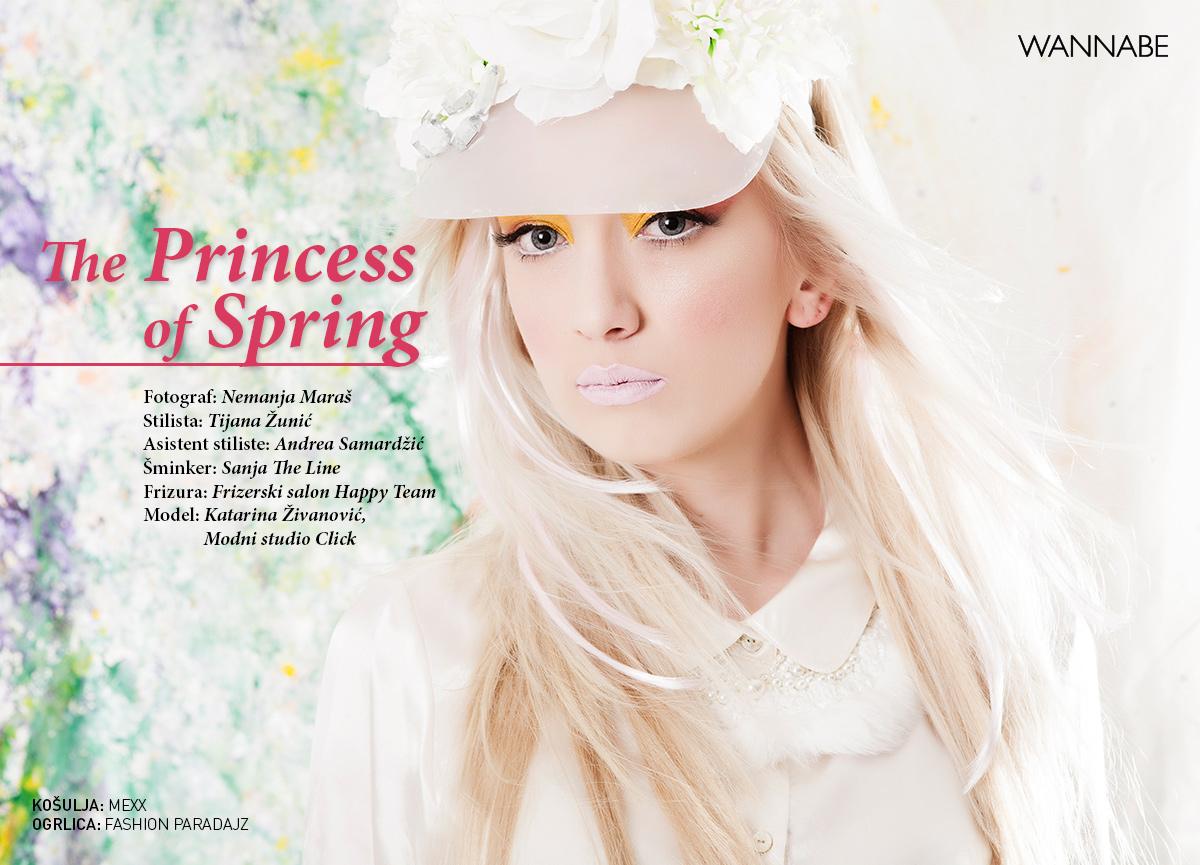 The Princess of Spring Wannabe editorijal: The Princess of Spring