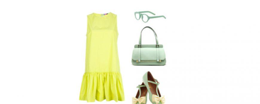 Look of the Day: U nežnim nijansama, žuta i mint