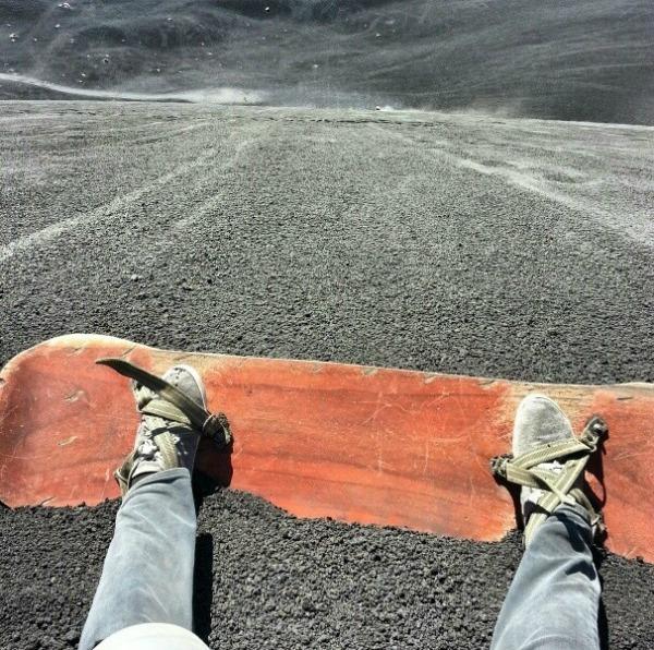 Vulkan surfovanje Uzbudljiva putovanja