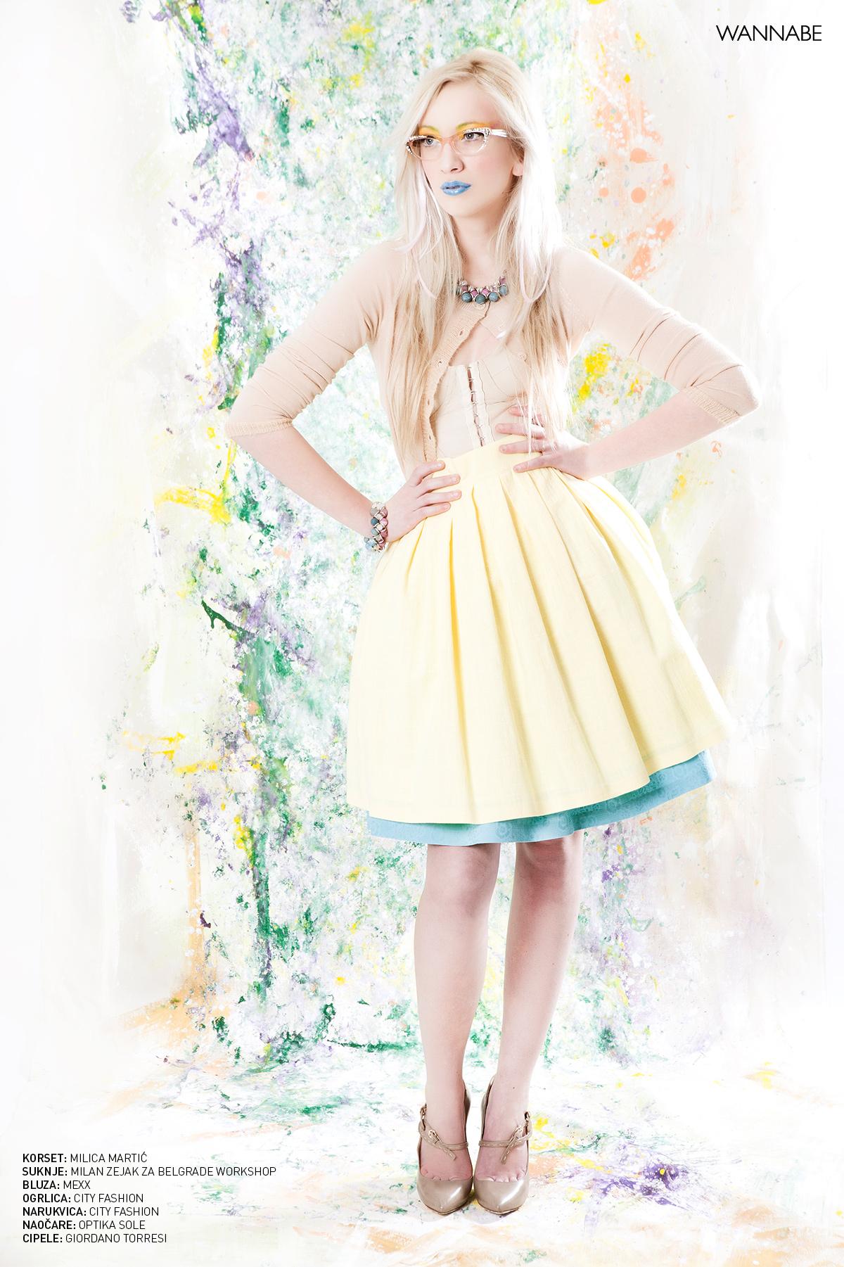 Wannabe Editorijal April 4 Wannabe editorijal: The Princess of Spring