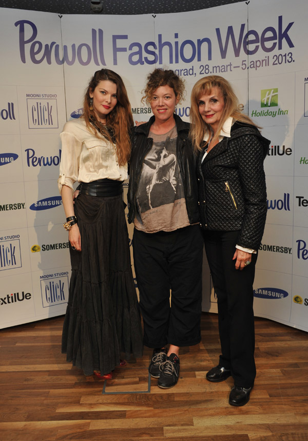 Zorana Kostic Ana Sekularac Zorana Ciric krstic 33. Perwol Fashion Week: Svečano zatvaranje i dodela nagrada