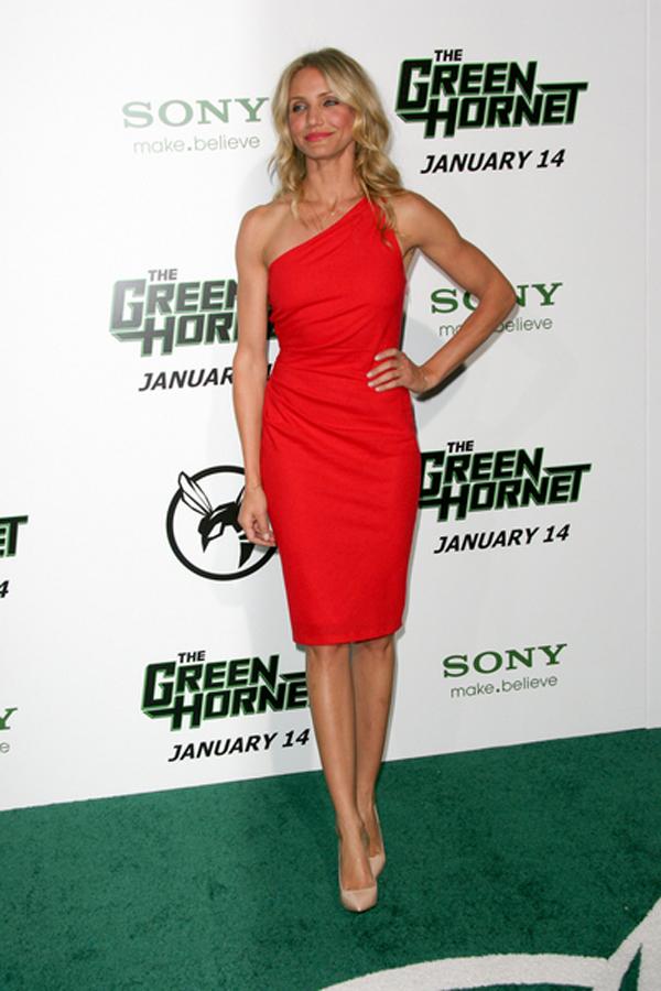 cameron diaz red dress Modne trendseterke: Deset glumica u crvenim haljinama