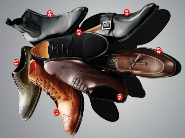 cipele1 Kompletan vodič za odela: 57 pravila o stilu (4. deo)