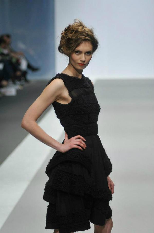crna haljina 4 33. Perwoll Fashion Week: Ana Šekularac