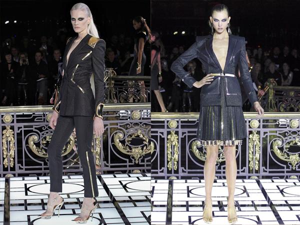 crno odelo i komplet sa suknjom Slika1 Proleće i leto na modnim pistama: Versace