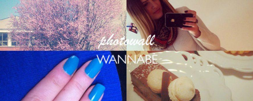 Wannabe Photo Wall: Moda i uživanje